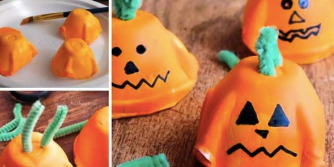 Here are 15 ways to craft Halloween pumpkins.