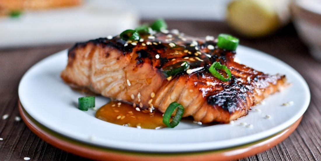 This wonderful grilled salmon is really easy to cook!