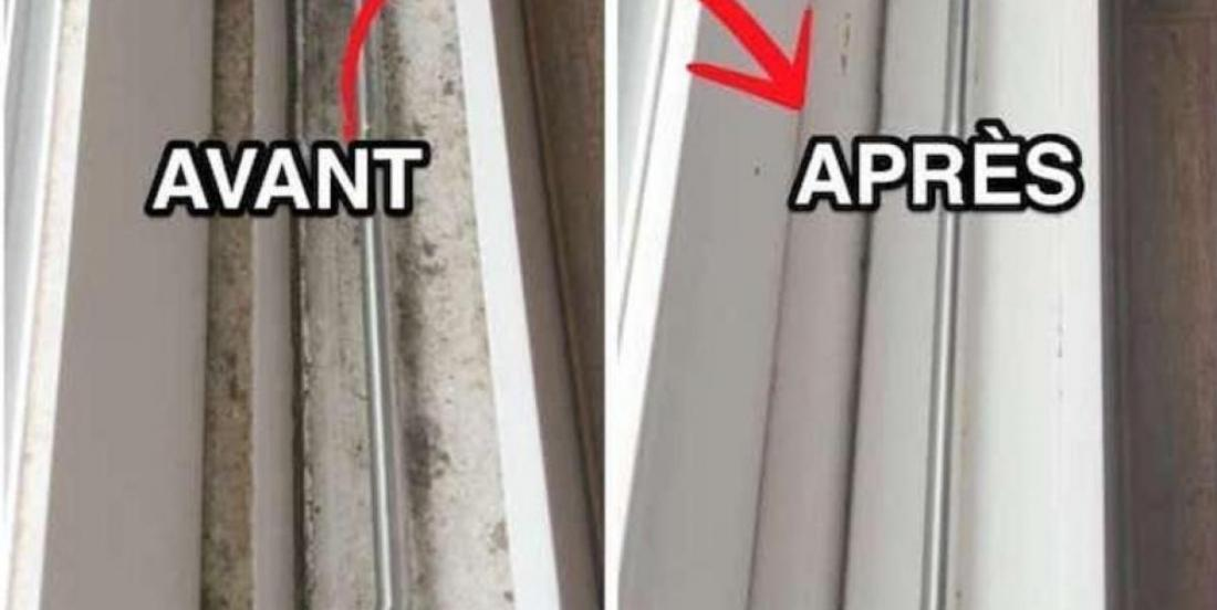 Here are the quickest and easiest solution to clean window tracks easily!