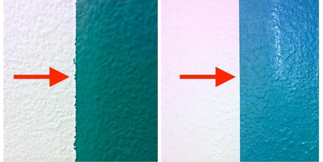 Here is the secret to paint perfect stripes on a wall!
