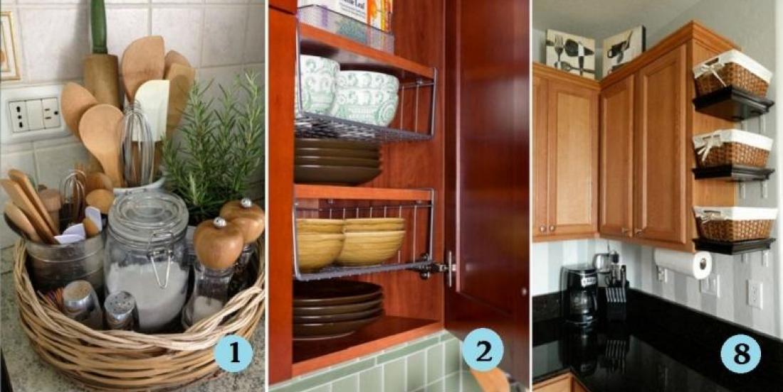 13 great ideas for kitchen storage!