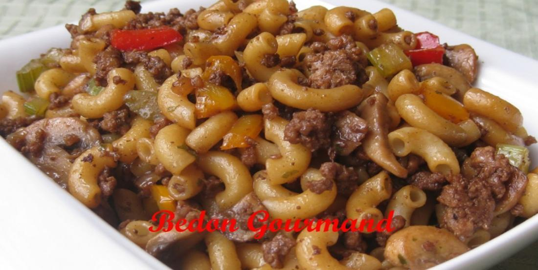 Chinese macaroni, the best way to do it!
