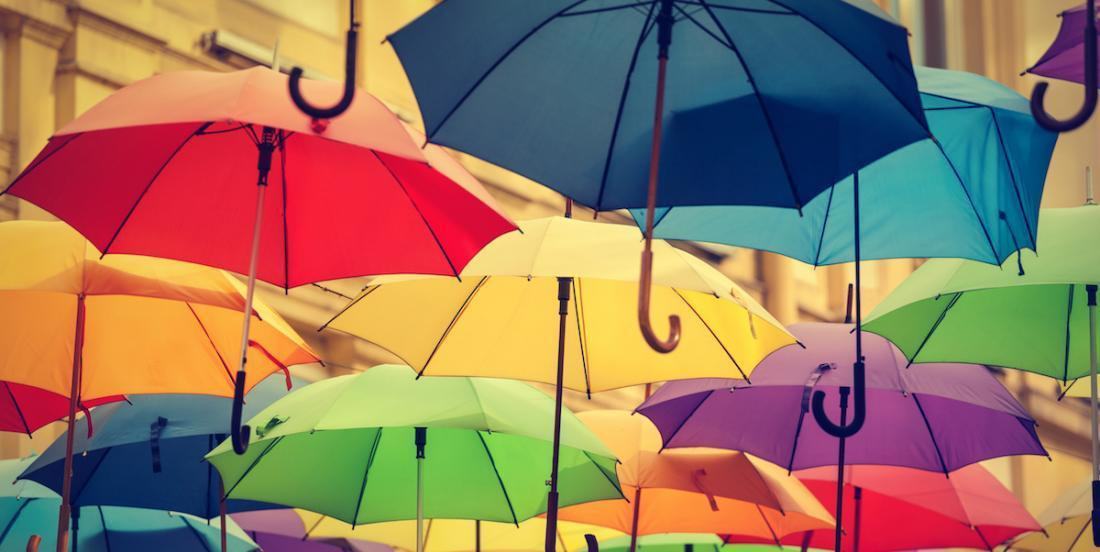 Here are 10 ways to recycle your old umbrellas