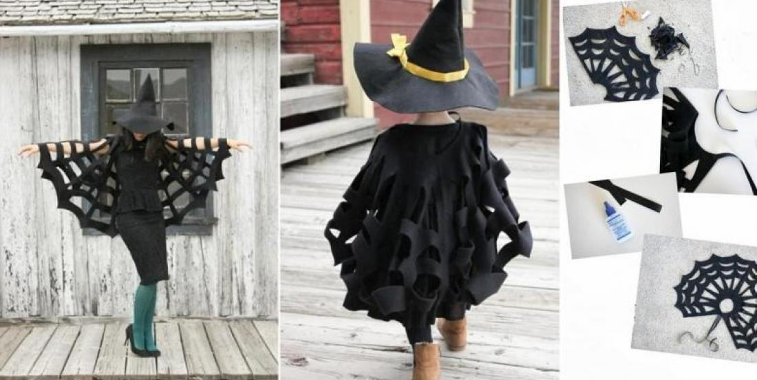 How to Make a Seamless Halloween Cape! Couldn't Be Easier!
