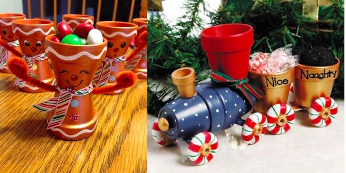 Here are 20 beautiful terracotta pot creation inspirations for the holidays