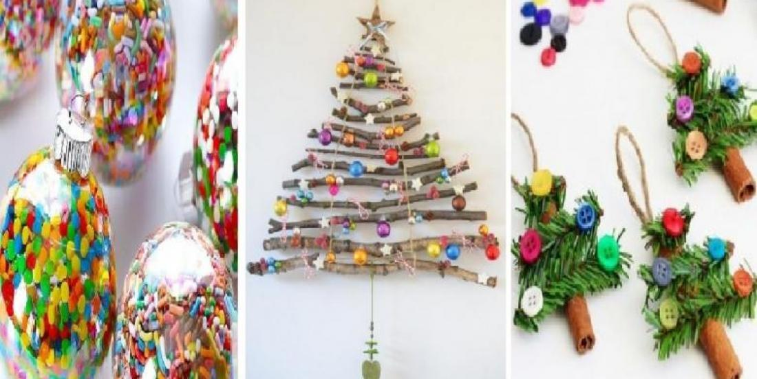 20 easy Christmas crafts an decoration ideas that even the less talented ones can do