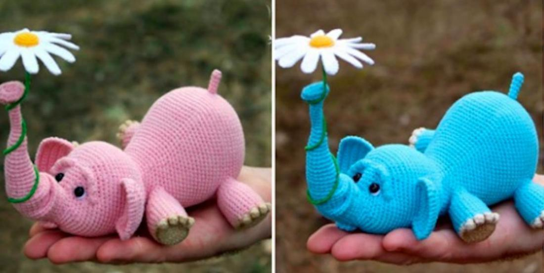 20 crochet project patterns that feature cute elephants!