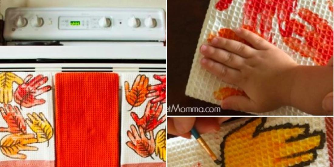 A beautiful hand towel DIY that you will cherish forever.