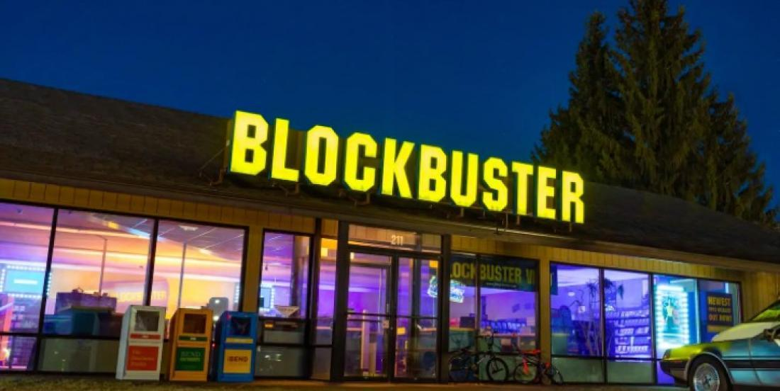 You can spend a night in the last remaining Blockbuster for only $4!