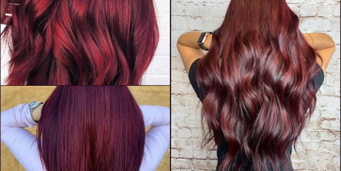 The hair colour that will be trendy this fall: mulled wine!