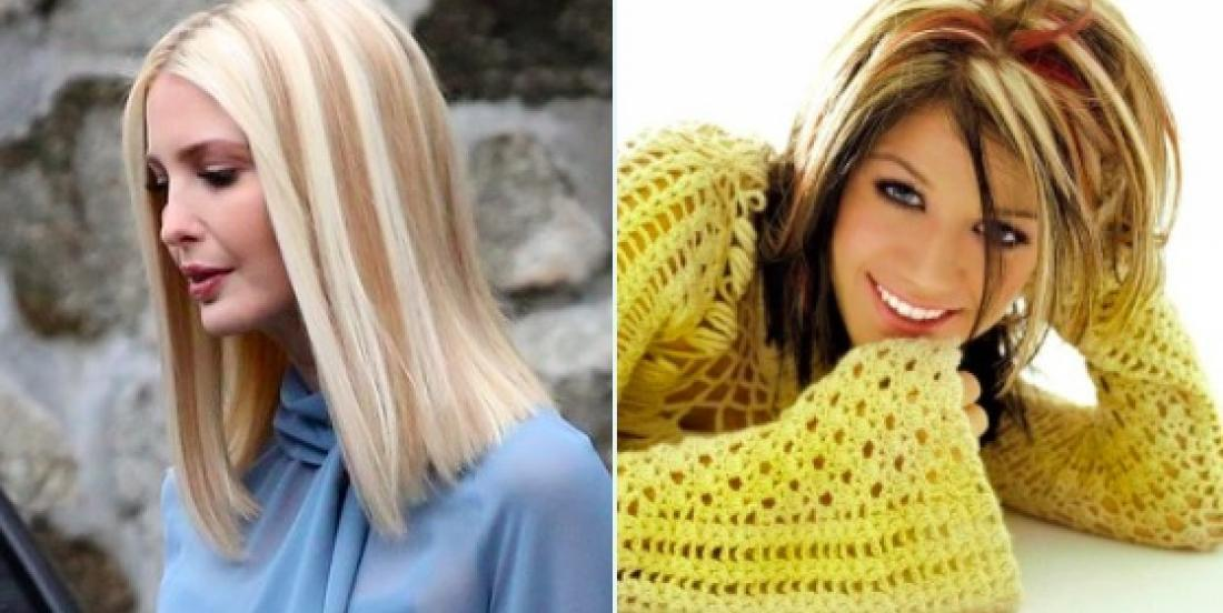 A trend from the 90's is making a big comeback: chunky highlights!