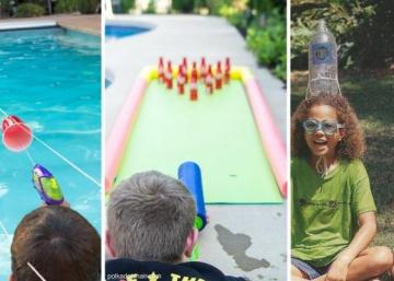 10 Water games that you have to try with your kids this summer!