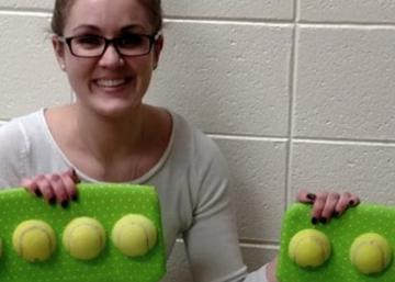 This teacher completely changes the lives of children in her class with ... tennis balls!