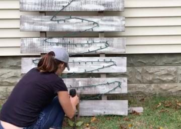 Here are 5 incredible Christmas decorations that people started to DIY in August !!