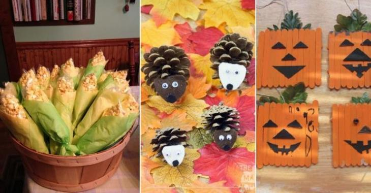 10 Autumn DIY ideas for having fun on cold days!