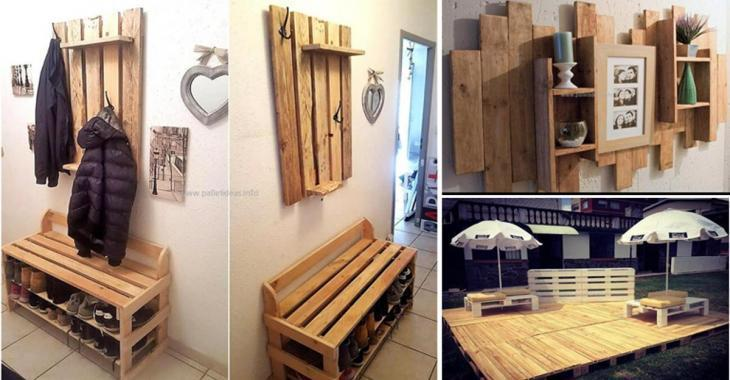 Cool ideas that can be made with wooden pallets!