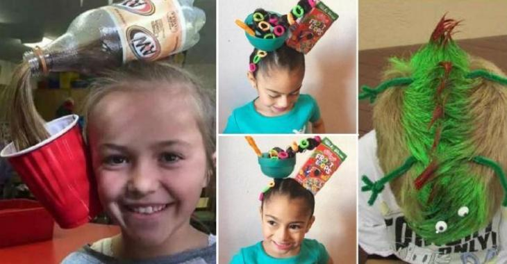 13 Hilarious hairstyles for kids, perfect for Halloween!