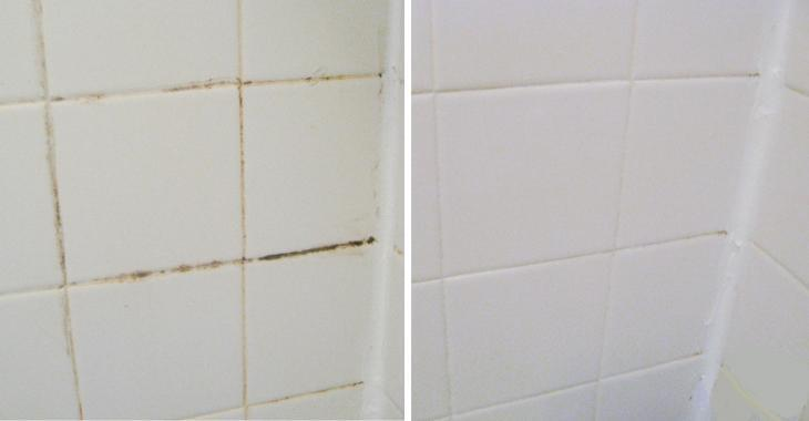 This recipe with 2 ingredients to whiten the ceramic grout is infallible! Do not search anymore!