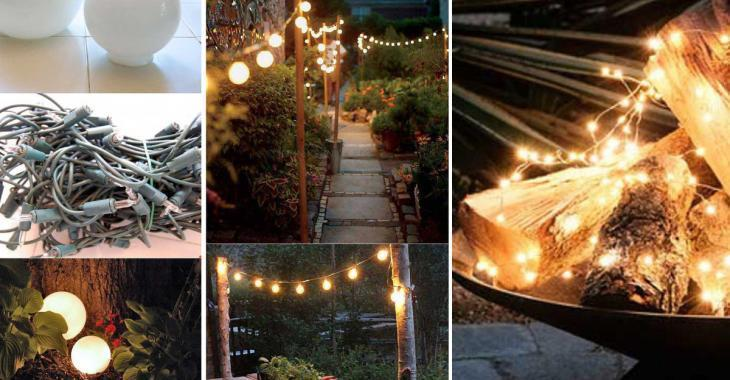 20 splendid ways to light up your garden at night