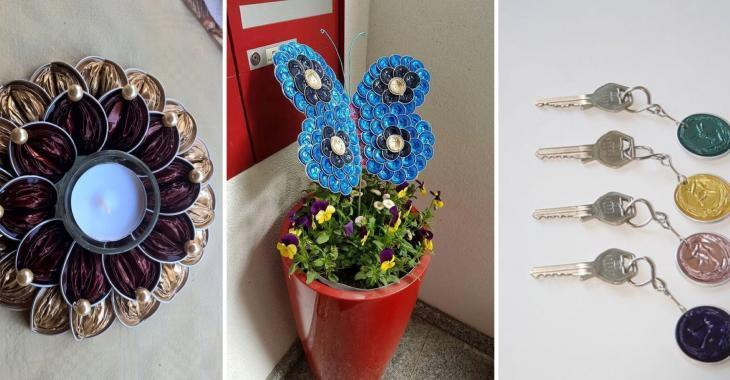 13 ideas to recycle your old coffee capsules!