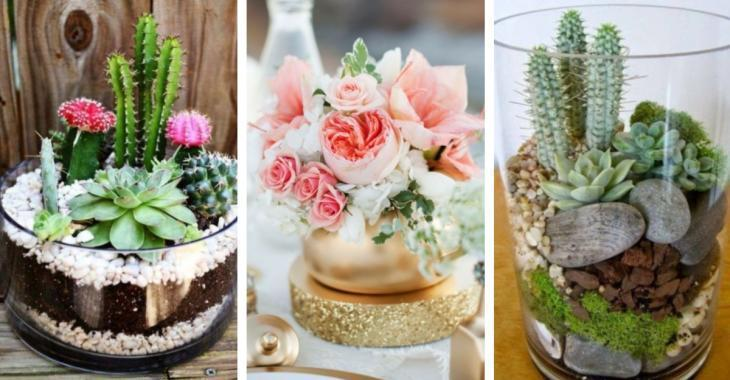 Here are 12 DIY centerpiece ideas to decorate the house
