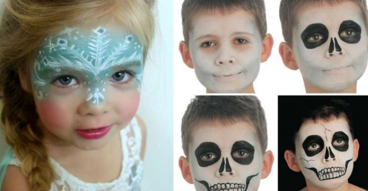 Here are 18 Great Halloween Make Up Ideas for kids this Halloween