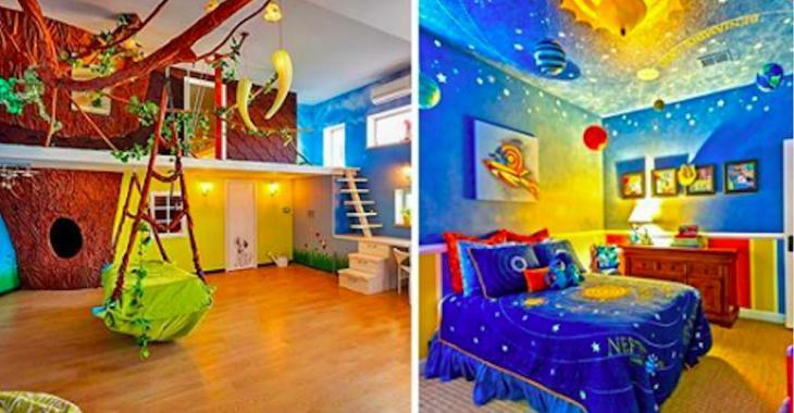 Here are 18 incredible children's bedrooms that will be the envy of everyone, even adults!