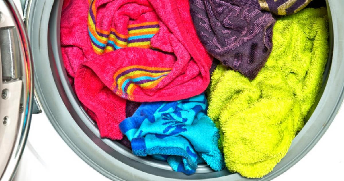 how to get rid of musty smell in towels